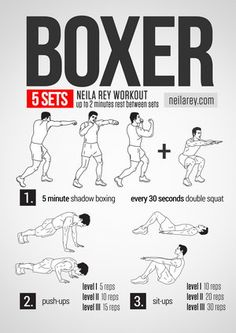 Boxer Workout (pain and despair)