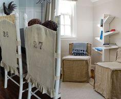 Smart Ways to Use Burlap Indoors Slipcovers