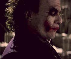 538 images about the joker. on We Heart It Heath Ledger Joker Quotes, Joker Heath, Riveting, Margot Robbie, Dark Knight, Gotham, Harley Quinn, Find Image, The Darkest