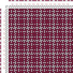 draft image: Figurierte Muster Pl. XVII Nr. 10, Die färbige Gewebemusterung, Franz Donat, 2S, 2T
