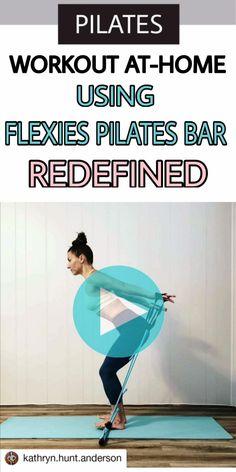 Interval Workouts, Pilates Workout Videos, Beginner Workouts, Pilates Barre, Workout For Beginners, At Home Workouts, Hip Mobility Exercises, Core Exercises, Yoga Bar