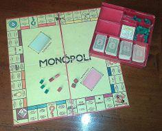 Il MONOPOLI !  con gli IMPREVISTI e le PROBABILITA' e il VICOLO CORTO da 6.000 LIRE. Altro che videogiochi!