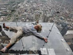 sears tower glass balcony