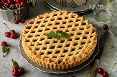 Sünis kanál: Meggyes linzertorta Apple Pie, Waffles, Breakfast, Food, Morning Coffee, Essen, Waffle, Meals, Yemek