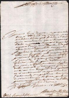 MANOSCRITTO-18 OTTOBRE 1698-CONVALESCENTE PER MALATTIA RICHIEDE PROTEZIONE