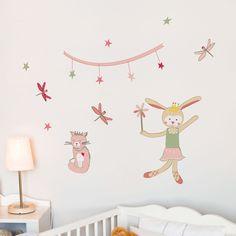 Pierrette Pirouettes - kid wall decal. $27.00, via Etsy.