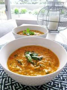 Vegan Coconut Curry Lentil Soup Recipe w/ Photos — Vegangela