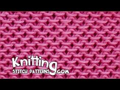 Watch video to learn how to knit the Slip-Stitch Honeycomb pattern. ++ Detailed written instructions: http://www.knittingstitchpatterns.com/2015/03/slip-stit...