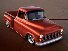 1955 chevy truck | 350 chevy my 1958 gmc with a 1955 chevy front clip two years to build ...