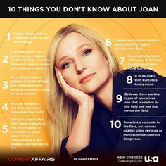Joan, Covert Affairs