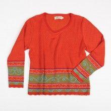 Pullover Sissi - mohn/mango
