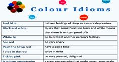 Colour Idioms Welcome! Say hello to the world. Tell us about yourself!   RECENT GUEST POSTS Countable and Uncountable Nouns Countable and Uncountable Nouns ...Read More Vocabulary for Expressing One's opinion Vocabulary for Expressing One's opinion ...Read More Passive Voice in English Passive Voice in English ...Read More Shopping Vocabulary Shopping Vocabulary ...Read More Related …