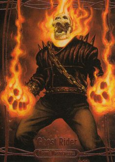 Ghost Rider by Joe Jusko - Visit to grab an amazing super hero shirt now on sale! Ghost Rider 2016, Ghost Rider Marvel, Marvel Comics Art, Marvel Heroes, Marvel Characters, Ghost Raider, Ghost Rider Wallpaper, Comic Art, Comic Books