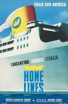 Bernalloli poster: Home Lines