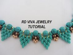 Tutorial-Boston collar por RDVIVAJEWELRY en Etsy