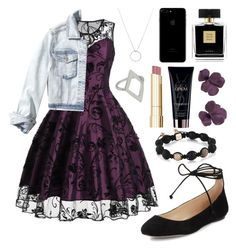 """""""Requested Clothing Set))Justine McCall."""" by annayalee-gerber ❤ liked on Polyvore featuring Karl Lagerfeld, Hollister Co., Roberto Coin, Avon, Stila and Yves Saint Laurent"""
