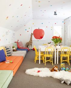 Perfectly colorful playroom