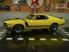 1970 Ford Mustang Boss 302. my favorite car ever made, color design everything..:)
