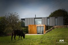 House in Northern Ireland designed by Patrick Bradley Architects and made out of four shipping containers! Featured on Grand Designs 24th September, 2014.