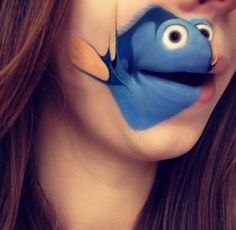 Makeup Artist Transforms Her Lips Into The Expressive Faces Of Popular Characters