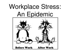 Workplace stress affects an unsustainable number of people worldwide, making them unproductive and thus directly affecting the economy of the countries they work in. Description from eyeofthecylone.wordpress.com. I searched for this on bing.com/images