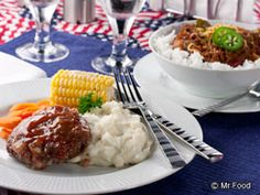Mr. Food's Election Day Favorites. Whether you elect to choose one or both of these all-American-style favorite comfort food dishes, you'll always come out a winner. Enjoy the stick-to-your-ribs version of Obama's favorite White House Chili or Romney's novel Glazed Meatloaf Cakes. WBOC-TV 16, Delmarva's News Leader, FOX-21