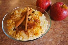 Scrumptious and sweet, our Apple Rice Pudding can't be beat!