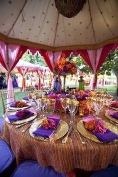 African Wedding Reception Gallery   VibrantBride.com
