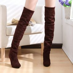3fa7eb4eebd6 High Heels Over the Knee High Boots – awashdress Knee High Heels