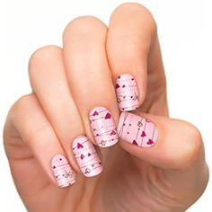 Incoco Nail Polish Strips, Nail Art, Love Spell