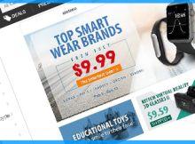 Alerta de promoções na Gearbest