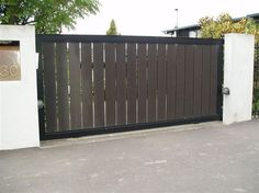 privacy fence driveway gate   The Fence & Gate Shop offer a variety of ...