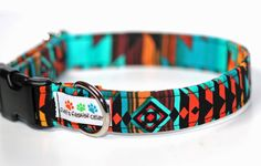 Aztec dog collar  Navajo Collar Ring of by FidosFashionCollars. Wow super cute