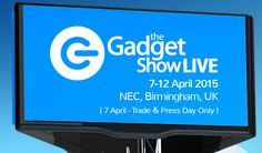 Come and see us at The Gadget Show LIVE next week! HALL STAND We have lots of new products to show you Next Week, Press Release, Birmingham, Gadgets, Action, Live, Projects, Log Projects, Group Action