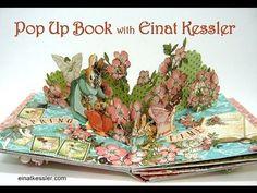 Pop Up Book with Graphic 45 - Einat Kessler