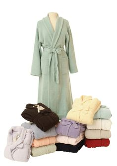 I had a chenille bathrobe as a child. I would love to have one now.