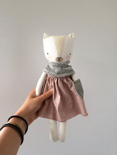 luckyjuju kitten doll girl von luckyjuju auf Etsy