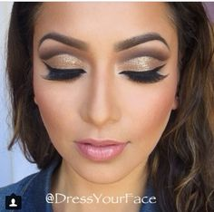 Dress Your Face makeup. Love this look