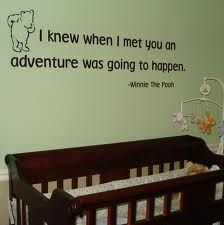 Have always considered an old school Winnie the Pooh themed baby room