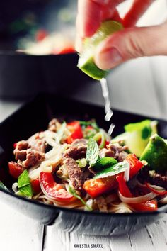Stir-fry z wołowiną