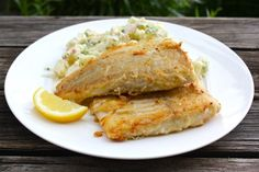 The Great Northern Pike is a fresh water white fish that is delicious fried in butter.