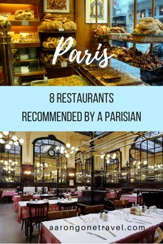 Recommended Restaurants in Paris by a Parisian