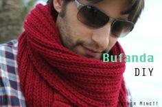 DIY Cómo hacer una bufanda para hombre