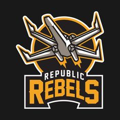 Awesome 'Republic+Rebels' design on TeePublic!