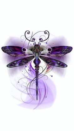 Dragonfly Images, Dragonfly Tattoo Design, Dragonfly Jewelry, Dragonfly Art, Butterfly Art, Tattoo Designs, Dragonfly Tatoos, Butterflies, Mom Tattoos