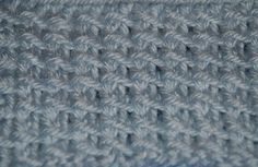 The Bamboo Stitch is Perfect Knitting Stitch for Men's Wear