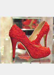 Image result for red heels for wedding