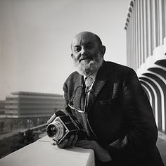 Ansel Adams. With Hasselblad