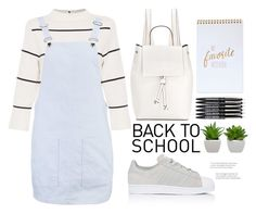 """back to school shopping"" by mycherryblossom ❤ liked on Polyvore featuring French Connection, L.K.Bennett, Boohoo, adidas and BackToSchool"