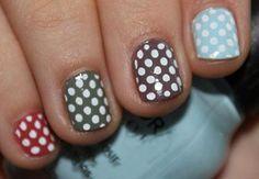 Resultado de imagen para diseños de uñas faciles de año nuevo